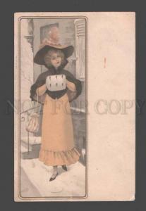 093559 Winter Fashion BELLE Lady Vintage Meissner & Buch 1053
