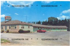 Ranch Motel & ESSO Service, Utica NY