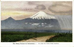 armenia turkey, Mount Ararat, Volcano (1910s) Postcard