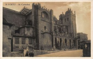 Portugal Porto Se Cathedral Cattedrale Postcard