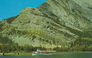 Canada Alberta Sightseeing Boat Waterton Lakes National Park