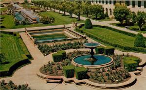 Unity School of Christianity Unity Village Missouri Rose Garden MO Postcard