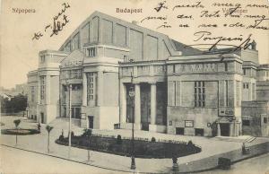 Hungary Budapest 1914 opera