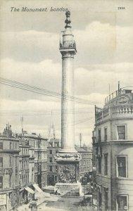 The Monument London England Postcard