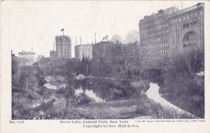 Swan Lake, Central Park, NEW YORK CITY, New York, 10-20s