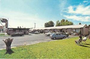 Continental Motel N. 7005 Division Spokane Washington WA