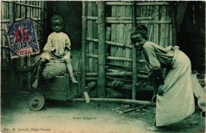 CPA Scéne Malgache. MADAGASCAR (625765)
