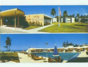 Unused Pre-1980 CORAL BEACH HOTEL San Juan Puerto Rico PR hr3464