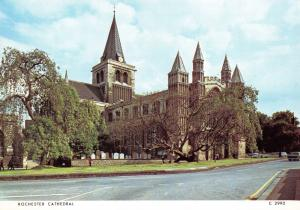 Postcard Rochester Cathedral, Kent by Judges Ltd L00
