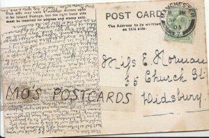 Genealogy Postcard - Eve Norman - 35 Church Street - Didsbury - Ref 9440A