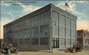 Fort Scott KS Lakin-McKey Mfg Co c1910 Postcard
