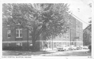 Bluffton Indiana~Clinic Hospital~NICE Classic Cars~Price is Right Write-in~1958