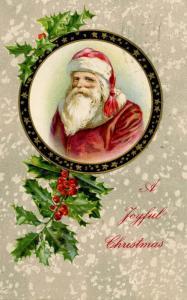 Greetings - Christmas, Santa Claus (red suit).