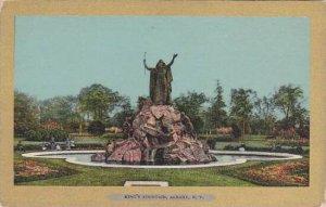 New York Albany Kings Fountain