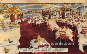 Iceland Restaurant, Dining Room - New York City, NY