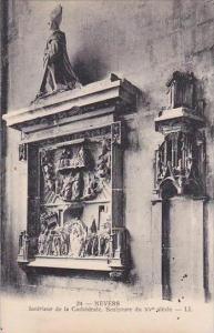 France Nevers Interieur de la Cathedrale