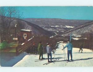 Pre-1980 Skiing THE HOMESTEAD Hot Springs Virginia VA ho8599