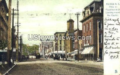 Fayetteville St. Raleigh NC 1906