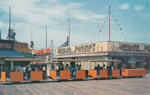 WILDWOOD BY-THE-SEA, New Jersey , 50-60s ; Tram Car