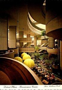 Michigan Detroit Rennaissance Center Detroit Plaza Western International Hote...