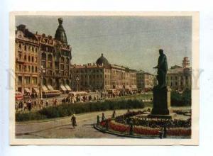 183375 RUSSIA LENINGRAD monument Kutuzov IZOGIZ 1956 year