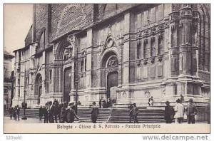 Italy Bologna - Chiesa di S. Peronio Facciata Principale