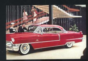 1956 CADILLAC COUP DEVILLE CAR DEALER ADVERTISING POSTCARD