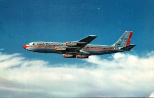 Advertising American Airlines Boeing 707 Jet Flagship