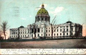 Minnesota St Paul State Capitol Building 1906