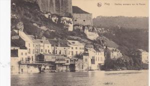 HUY, Belgium, 1900-1910's; Vieilles Maisons Sur La Meuse