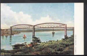 Devon Postcard - Plymouth - Saltash Bridge  RT1915