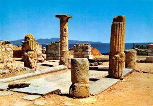 Spain Ampurias, Atrio de la casa romana