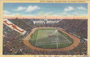 Stadium Coliseum Los Angeles California