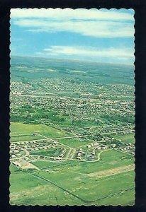 Dawson Creek, British Columbia/B.C., Canada Postcard, City Aerial View, 1960&...