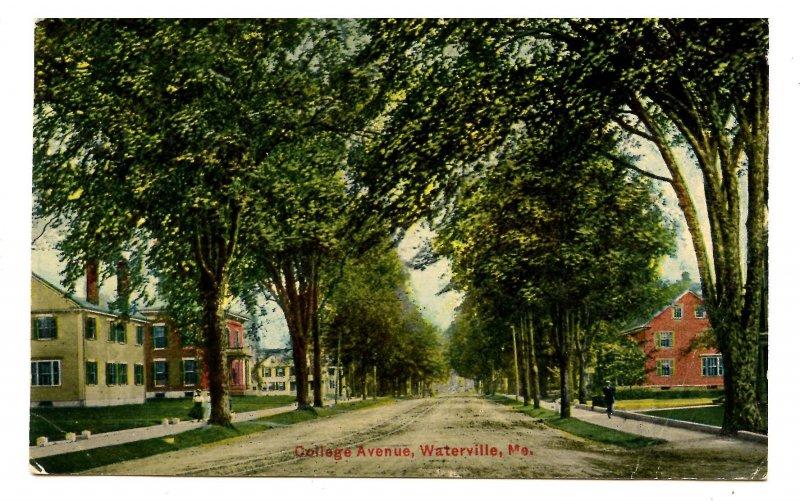 ME - Waterville. College Avenue