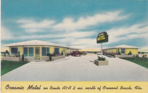 Florida Ormand Beach Oceanic Motel sk4055