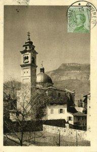 italy, ROVERETO, Santa Maria del Carmine, Church (1925) Postcard