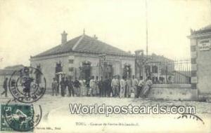 Toul, France, Carte, Postcard Caserne de Perrin Brichambault Toul Caserne de ...
