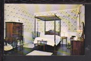 Guest Bedroom,Hildene,Manchester,VT Postcard