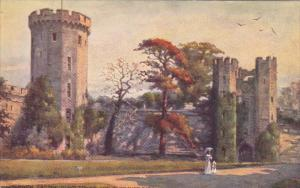 WARWICK, Warwickshire, England, 1900--1910's; Warwick Castle, Guys Tower And ...