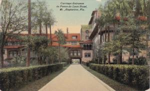 Carriage Entrance to Ponce De Leon Hotel , St Augustine , Florida , 00-10s