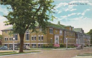 Illinois Paris High School 1955 Curteich