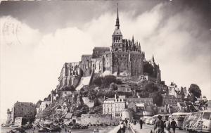France Le Mont Saint-Michel 1957 Real Photo
