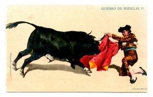 Bullfighting - First Knee Jog