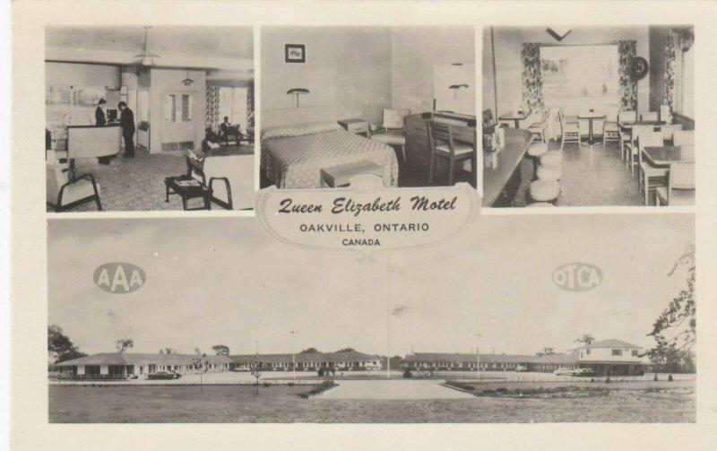 RP: OAKVILLE , Ontario ,1930s-50s ; Queen Elizabeth Motel