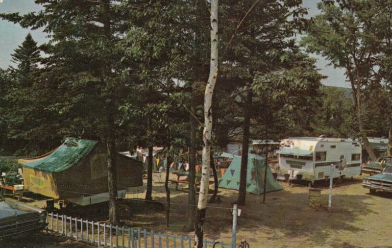 Lac St-Joseph , Quebec , Canada , 1950-60s , Camping Grounds