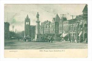 Morgan Square, Spartanburg , South Carolina, PU-1908