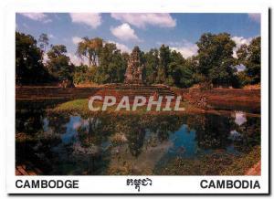 Postcard Modern Cambodia Cambodia Siem Reap Prasat Neak Pean