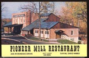 Pioneer Mill Restaurant 255 Riverside Drive Tiffin Ohio map on Reverse