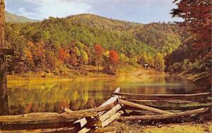 Greenbrier North Carolina~Lake Marion~Cove Mountain Range~Autumn Tree Mix 1950s